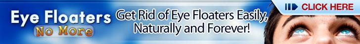 Eye Floaters No Morer